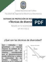 Técnicas de diversidad en sistemas de microondas