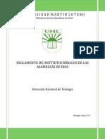 Reglamento de los IBAD Versión Final