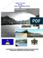 St. Lucia, Initial National Communication on Climate Change, 2001