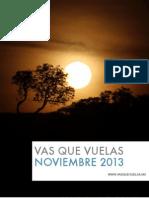 Vas que Vuelas / Noviembre 2013