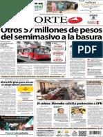 Periodico Norte de Ciudad Juarez 6 de Noviembre de 2013