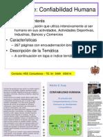 Confiabilidad Humana LIBRO Presentación HEE Consultores