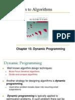 15 Dynamic Programming