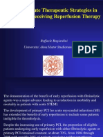 Optimal Acute Therapeutic Strategies in STEMI not Receiving Reperfusion Therapy