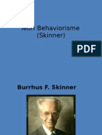 Teori Pemerolehan Skinner)