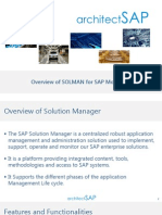 Monitoring With SAP Solution Manager-Important Trait And Functionalities