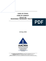 AACMA Code of Ethics - 2006 05 20