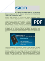 Voiture iPhone Kit Mains Libres   Denison