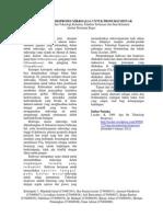 Kultivasi dan Bioproses Mikroalga Species Porphyridium cruentum