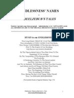 God's Names in Beelzebub's Tales