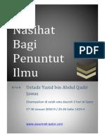 nasihat bagi penuntut ilmu.pdf