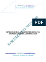 184.Development of a Smart Power Meter for Ami Based on Zigbee Communication