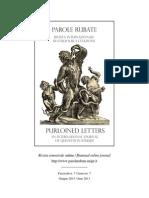 """issue nr. 7: 02. Esibire o nascondere? Osservazioni sulla citazione nel """"Furioso"""" - Maria Cristina Cabani (Università di Pisa)"""