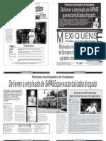 Versión impresa del periódico El mexiquense 6 noviembre 2013