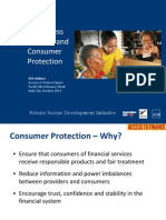 Branchless Banking and Consumer Protection