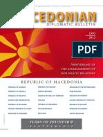 Macedonian Diplomatic Bulletin -  Special Edition 2013