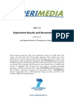 D4.7.3 3DAcrobatics Experiment Results and Evaluation v1.0.pdf