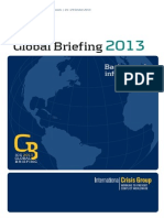 Global Briefing Booklet 2013