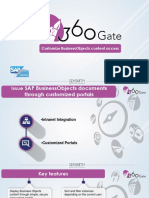 360gate datasheet for SAP BusinessObjects