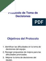 Protocolo de Toma de Decisiones Del Equipoo