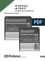 StudioLive2442-1642 OwnersManual ES