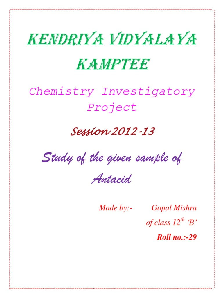 science and investigatory project Science investigatory projects pdf most of us have conducted an investigatory science project without even knowing it, or at least without knowing thats what it was calledmentoring scientific minds through group research projects: maximising available.