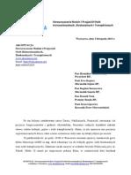 List Do Wladz