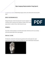 American Standard Sign Language Representation Using SpeechRecognition.docx