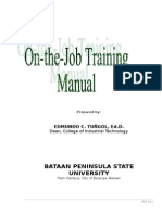 112667269 Ojt Manual University Modified 2010