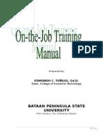 112667269 Ojt Manual University Modified 2010
