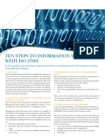 !! Ten Steps to Information Security
