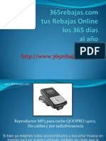 Reproductor MP3 para coche Qoopro.ppsx