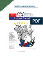 Rapport ODI 5 Novembre 2013