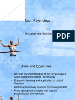 introduction to sport and exercise psychology