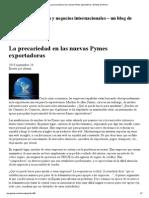 La Precariedad en Las Nuevas Pymes Exportadoras _ El Blog de Atrium
