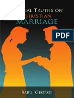 Biblical Truths on Christian Marriage