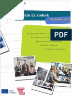 Boletin Eurodesk noviembre 13