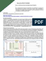 Manual do Pro-Fit Winner - Jogo de Negócios na FGV