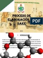 Proceso de elaboración del sake