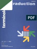Terminologie Et Traduction MARTIN Collocations