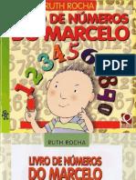 Livro de números do Marcelo - Ruth Rocha