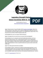 Gluten Sensitivity With Dr Osborne - Legendary Strength Podcast.pdf