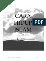 Cara Hidup Islam - Abul A'la  Al-Maududi.pdf