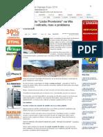 """SiteBarra » Entulho do """"Lixão Provisório"""" na Vila Vicente é retirado, mas o problema continua"""