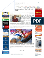 SiteBarra » Mulher é assassinada em Vila Pavão pelo próprio marido