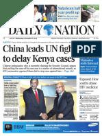 Daily Nation Wednesday 6th November 2013