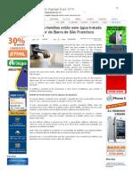 SiteBarra » Quarenta famílias estão sem água tratada no interior de Barra de São Francisco