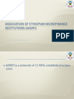 AEMFI and the Microfinance Sector