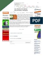 SiteBarra » Agrotóxicos_ Anvisa vai rastrear distribuição de frutas e verduras