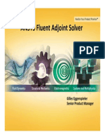 Optimization Adjoint Solver 9
